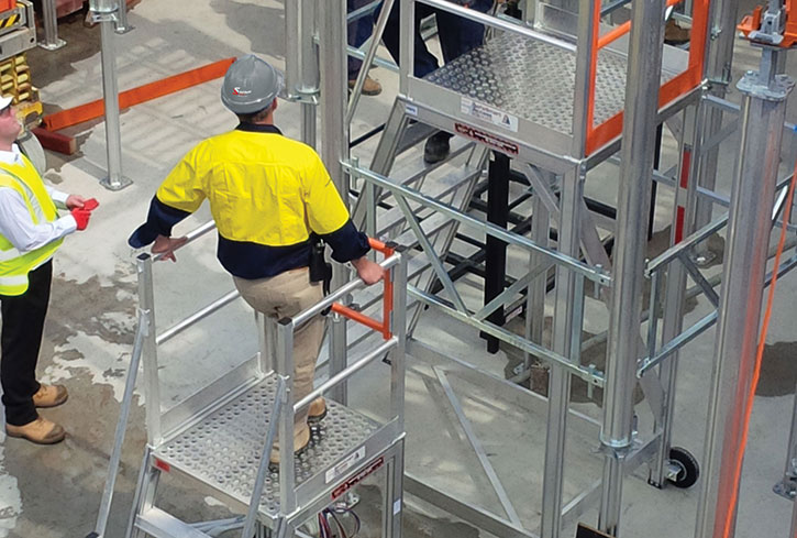 From an Industrial Ladder to Large-Scale Height Access